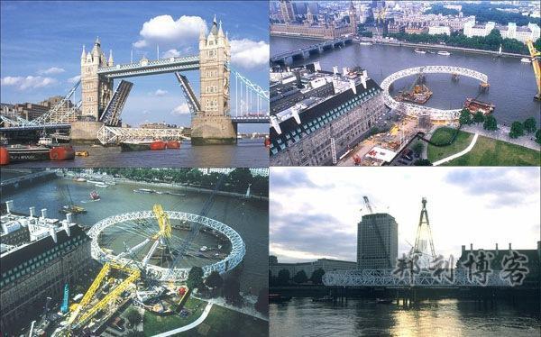 伦敦眼修建