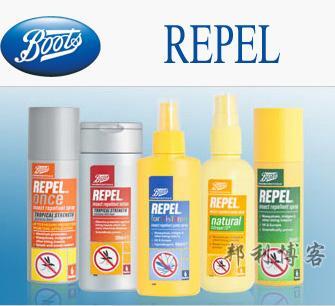 英国BOOTS驱蚊产品Repel