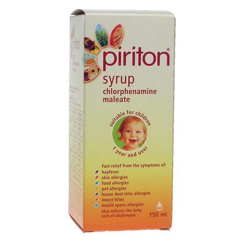 Piriton抗过敏糖浆