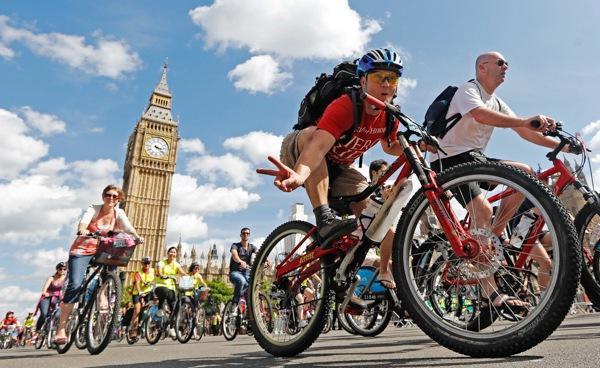 伦敦免费骑行活动
