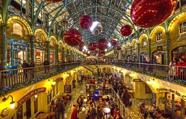 英国圣诞集市