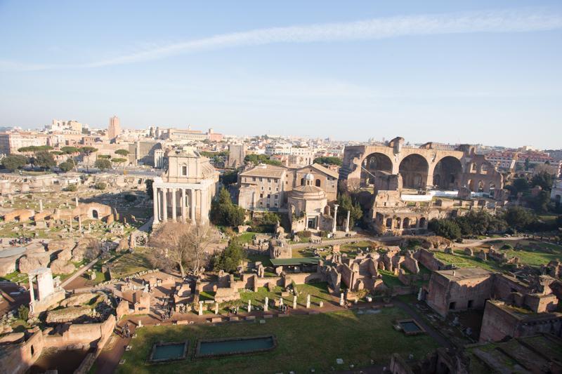 古罗马废墟