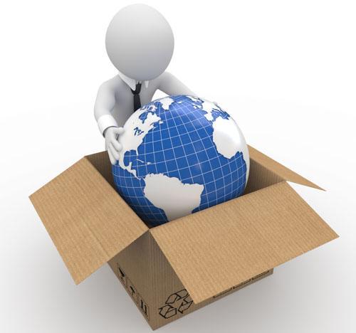 中国寄包裹到英国