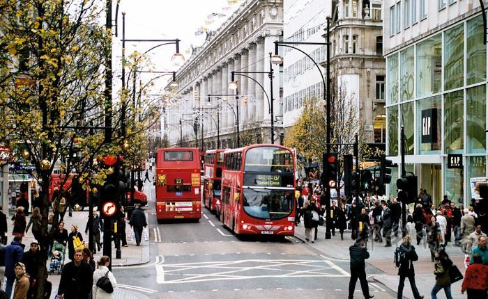 英国牛津街