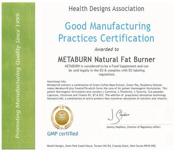 Metaburn减肥药
