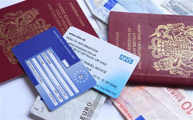 EHIC欧洲医疗保险卡