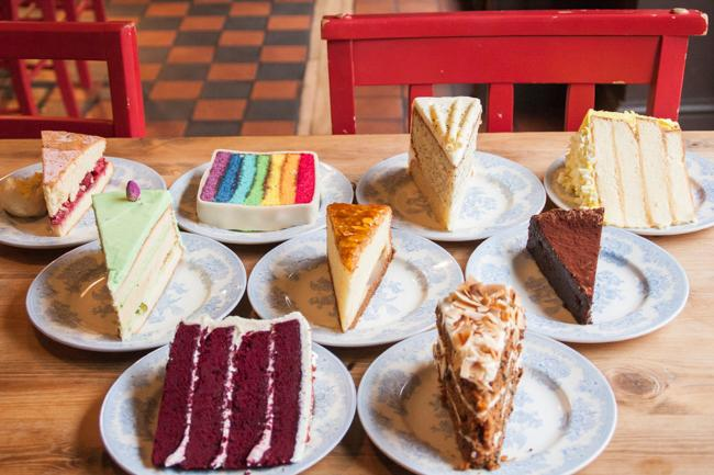 曼城甜品店
