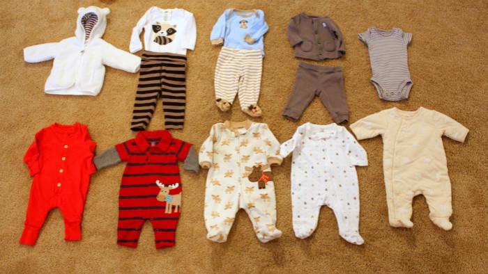 如何给新生儿准备衣服