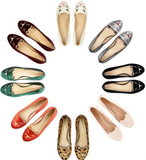 奢侈平底鞋