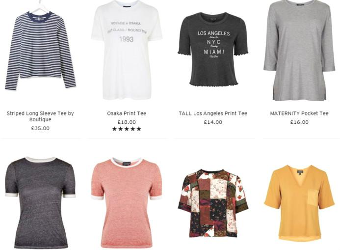 Topshop服装品牌及单品介绍