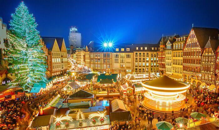 Christmas Market一个流传七百年的欧洲集市