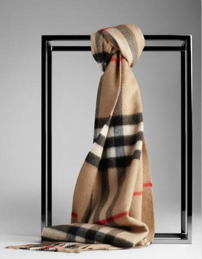 巴宝莉围巾