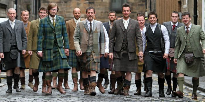 苏格兰裙子