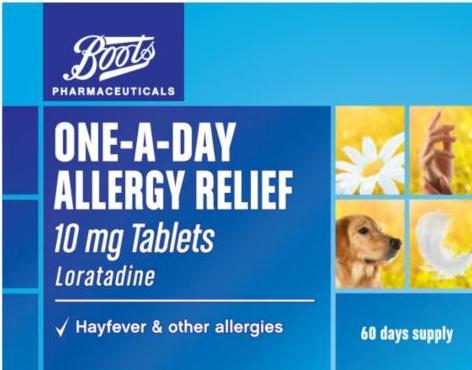 花粉过敏非处方药