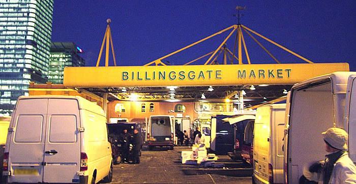 Billingsgate Market海鲜市场