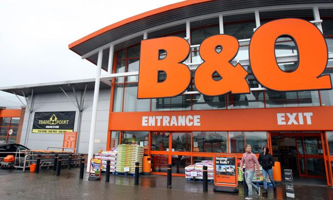 File photo dated 19/3/2013 of a view of the B&Q store in Ballymena, County Antrim. The home improvement chain is to close as many as 60 stores over the next two years as part of a restructuring of its UK and Ireland business. PRESS ASSOCIATION Photo. Issue date: Tuesday March 31, 2015. See PA story CITY Kingfisher. Photo credit should read: Paul Faith/PA Wire