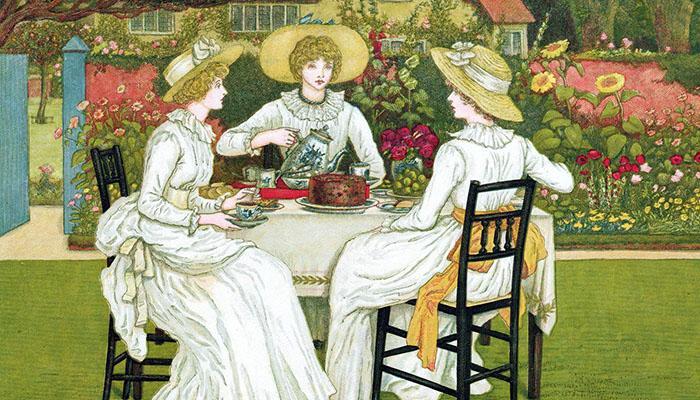 Origin of English afternoon tea