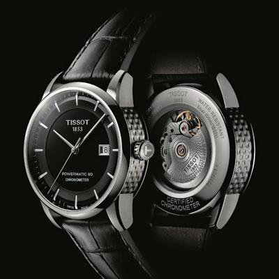 天梭瑞士官方天文台认证典藏80自动腕表