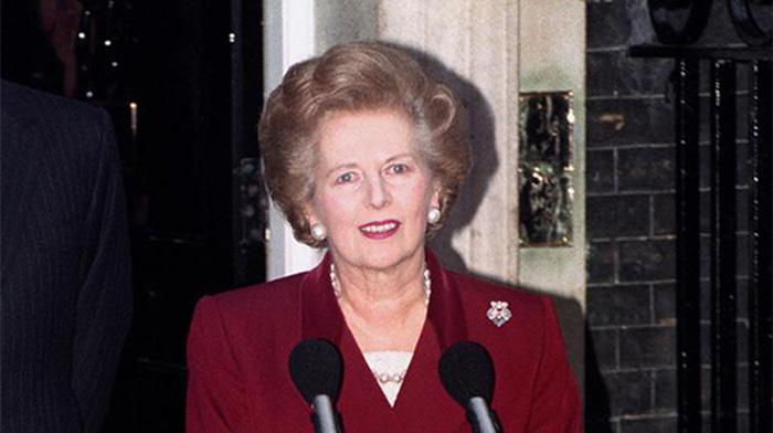英国首相铁娘子撒切尔夫人