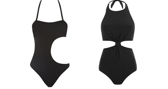 L'Agent by Agent Provocateur Women's Agata Swimsuit-Black