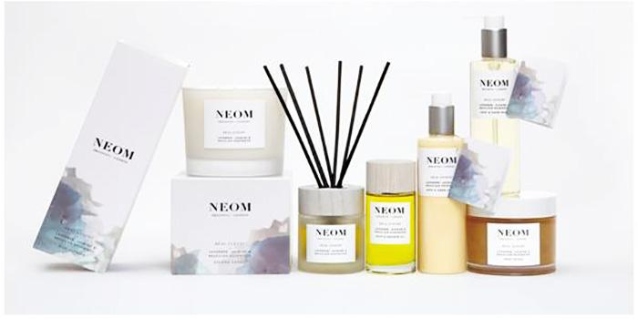 伦敦有机家居香氛品牌Neom Organics减压系列