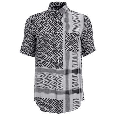 McQ Alexander McQueen Men's Short Sleeve Long Pocket Shirt