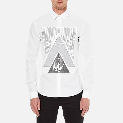 McQ Alexander McQueen Men's Googe Shirt