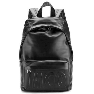McQ Alexander McQueen Men's Classic Leather Backpack