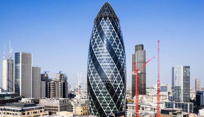 """英国建筑""""小黄瓜"""""""