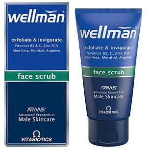 Wellman Face Scrub(磨砂膏)