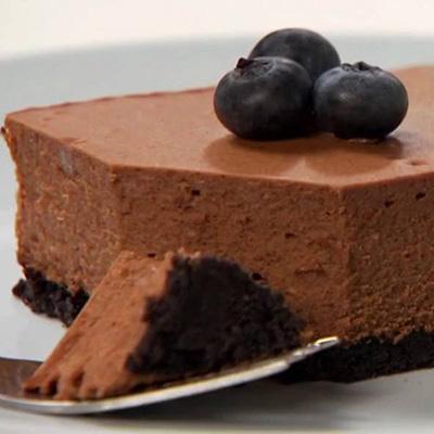 巧克力起司蛋糕(Chocolate & Cheese Cake)