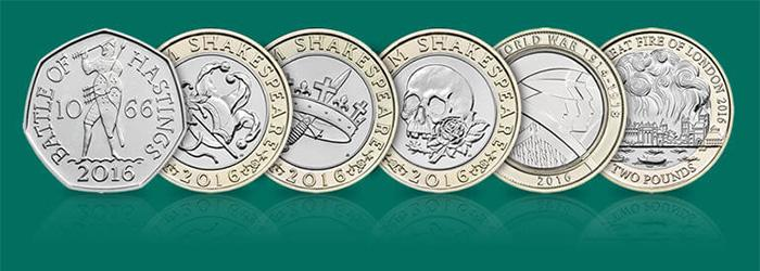英国邮局纪念币