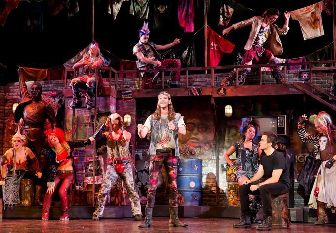 We Will Rock You Act 1The musical by QUEEN and Ben EltonCredit Photo: Paul Kolnikstudio@paulkolnik.comnyc 212-362-7778