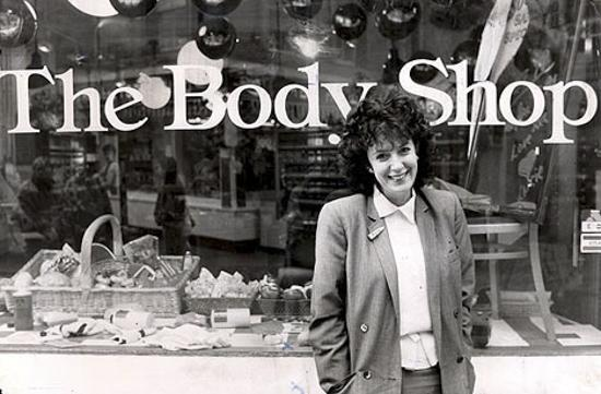 Anita Roddick——The Body Shop创始人
