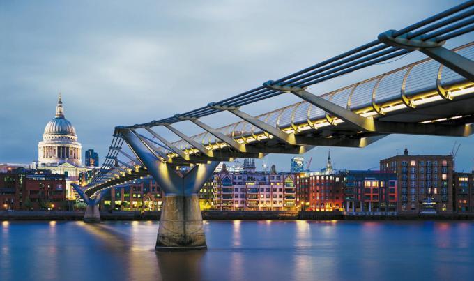 伦敦旅游之千禧桥