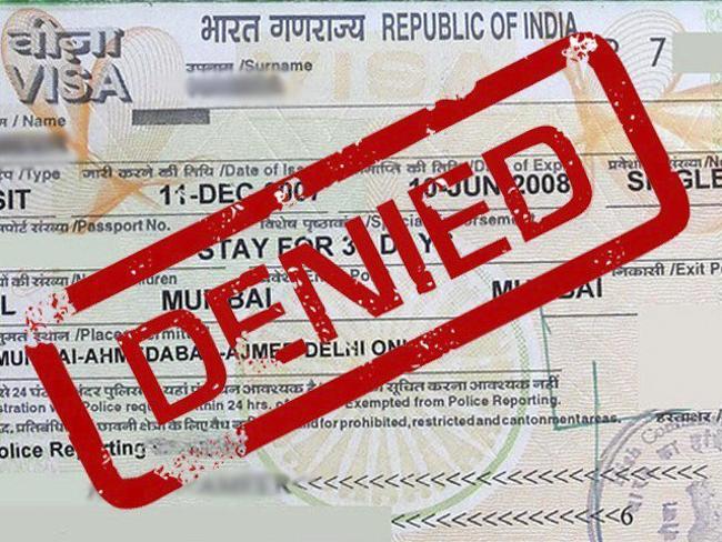签证拒签原因