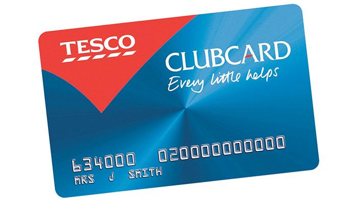 Tesco超市积分卡