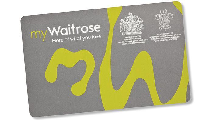 waitrose超市积分卡