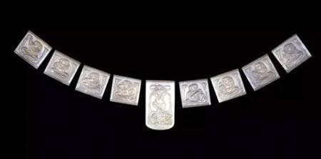 玛瑙腰带 唐朝(公元618-906)