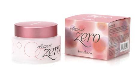 Clean it zero卸妆膏