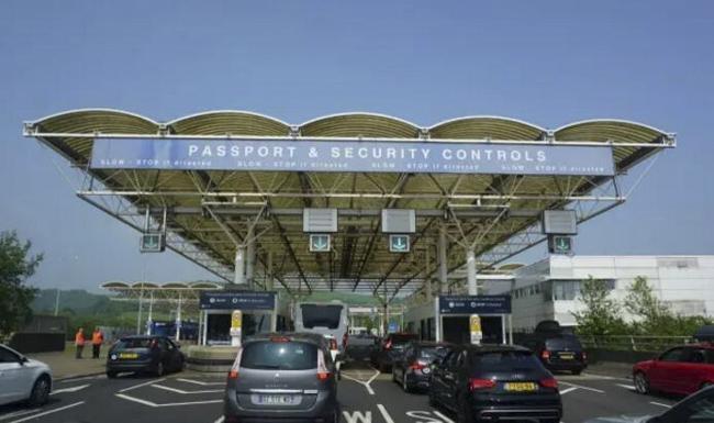 法国的入境检查站