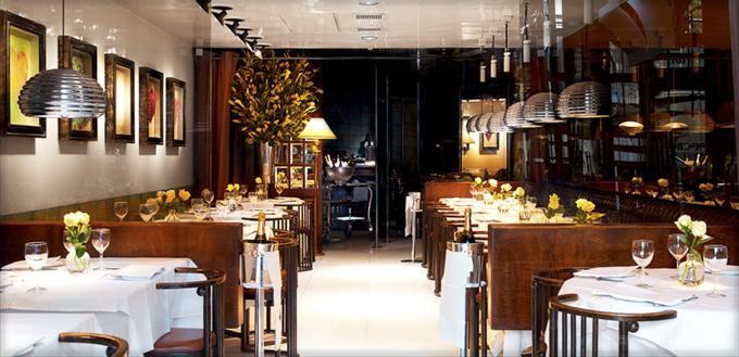 伦敦Mr Chow中餐厅