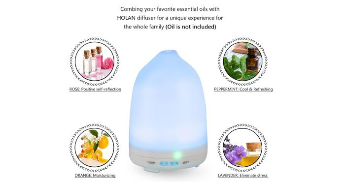 Holan oil Diffuser Cool Mist Humidifier