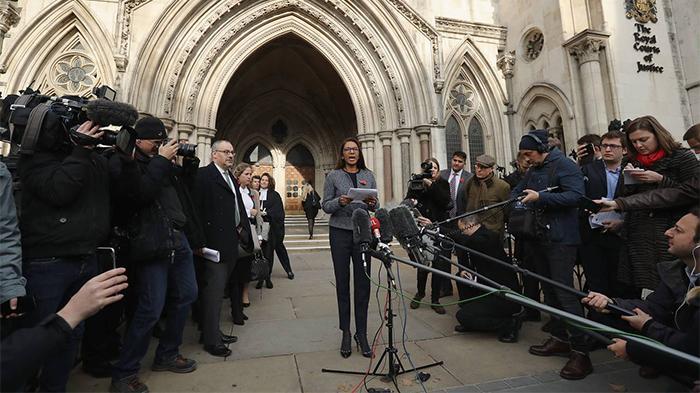 英国高等法院宣布判决