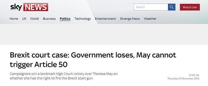 英国天空新闻