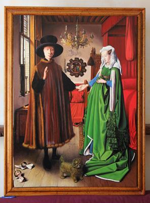Jan van Eyck, The Arnolfini Portrait, 1434