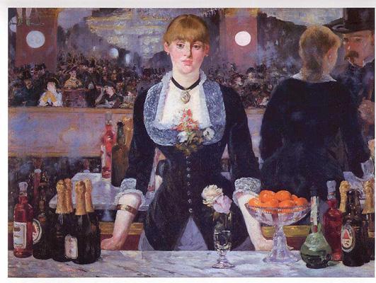 Edouard Manet, A Bar at the Folies-BergEère, 1881
