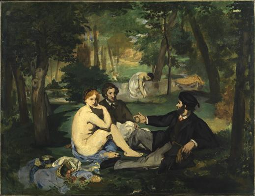 Edouard Manet, The Luncheon on the Grass, 1863