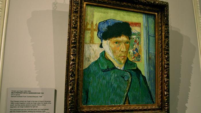 Vincent Van Gogh, Self-portrait with Bandaged Ear, 1889