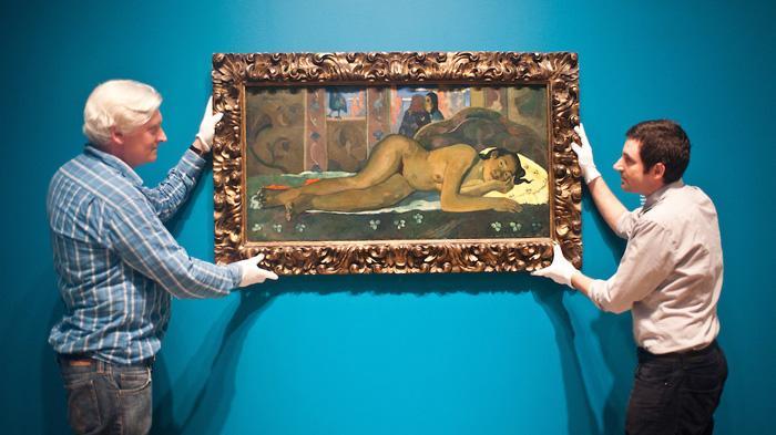 Paul Gauguin, Nevermore, 1897(保罗·高更,《永远不再》,1897)